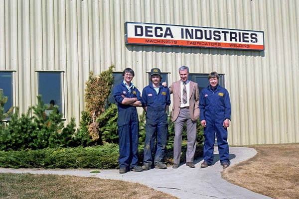 Deca Industries Historic Picture