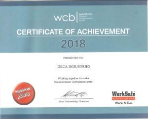 WCB Certificate